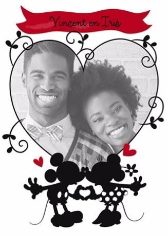 - disney-fotokaart-mickey-minnie-huwelijk