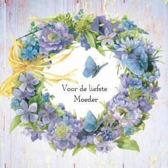 - moederdag-klassiek-een-bloemenkrans-voor-moeder