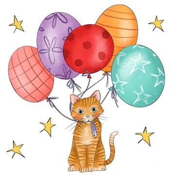 - Verjaardagskaart-Ballonnen-kat-Matia-Studio-sporta