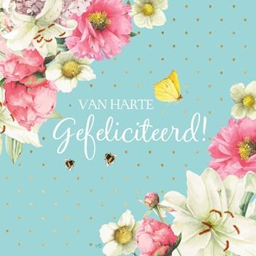 - Kaart-flowers-by-Marjolein-Bastin-Van-harte-gefeliciteerd-lichtblauw