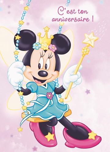 Cartes Anniversaire Enfant Fille Disney Hallmark